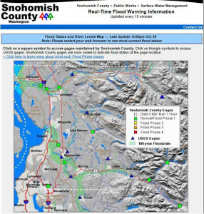 Oct. 29, 2013 Snohomish County Flood Map