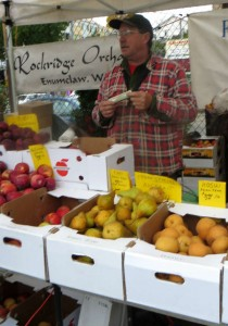 Rockridge Orchards farmer Wade Bennett