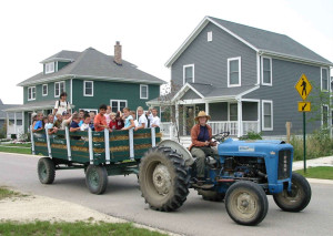 Children's Tractor Ride at Prairie Crossing