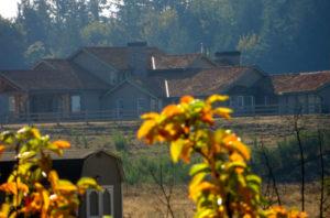 Rural estate adjacent to Rockridge Orchards