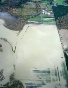 2006 Flood at Full Circle Farm, Carnation (Photo courtesy of Stewardship Partners)