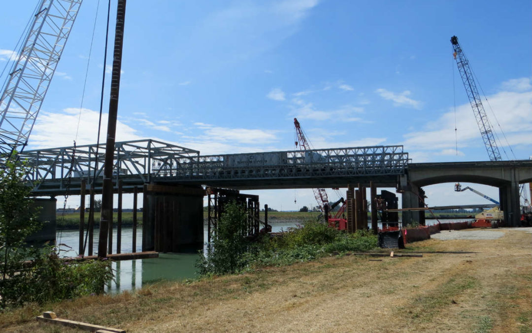 Temporary Span over Skagit River