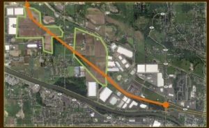 Proposed State Route 167 in the Puyallup Valley